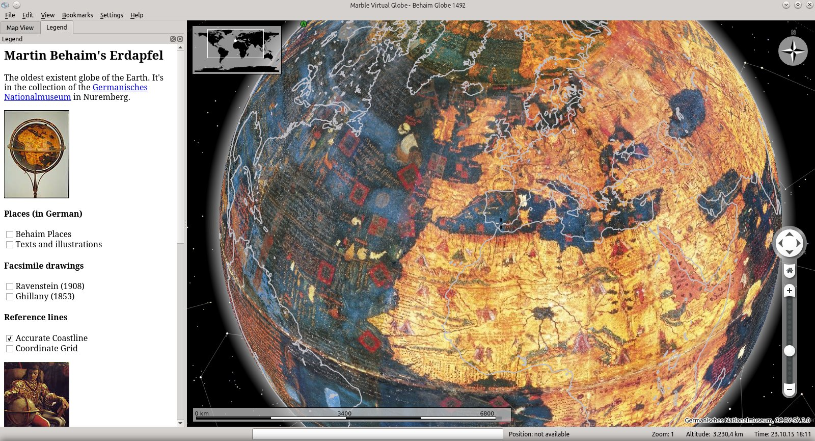 Google themes marble - Announcement Marble Ships The Oldest Existent Historic Globe