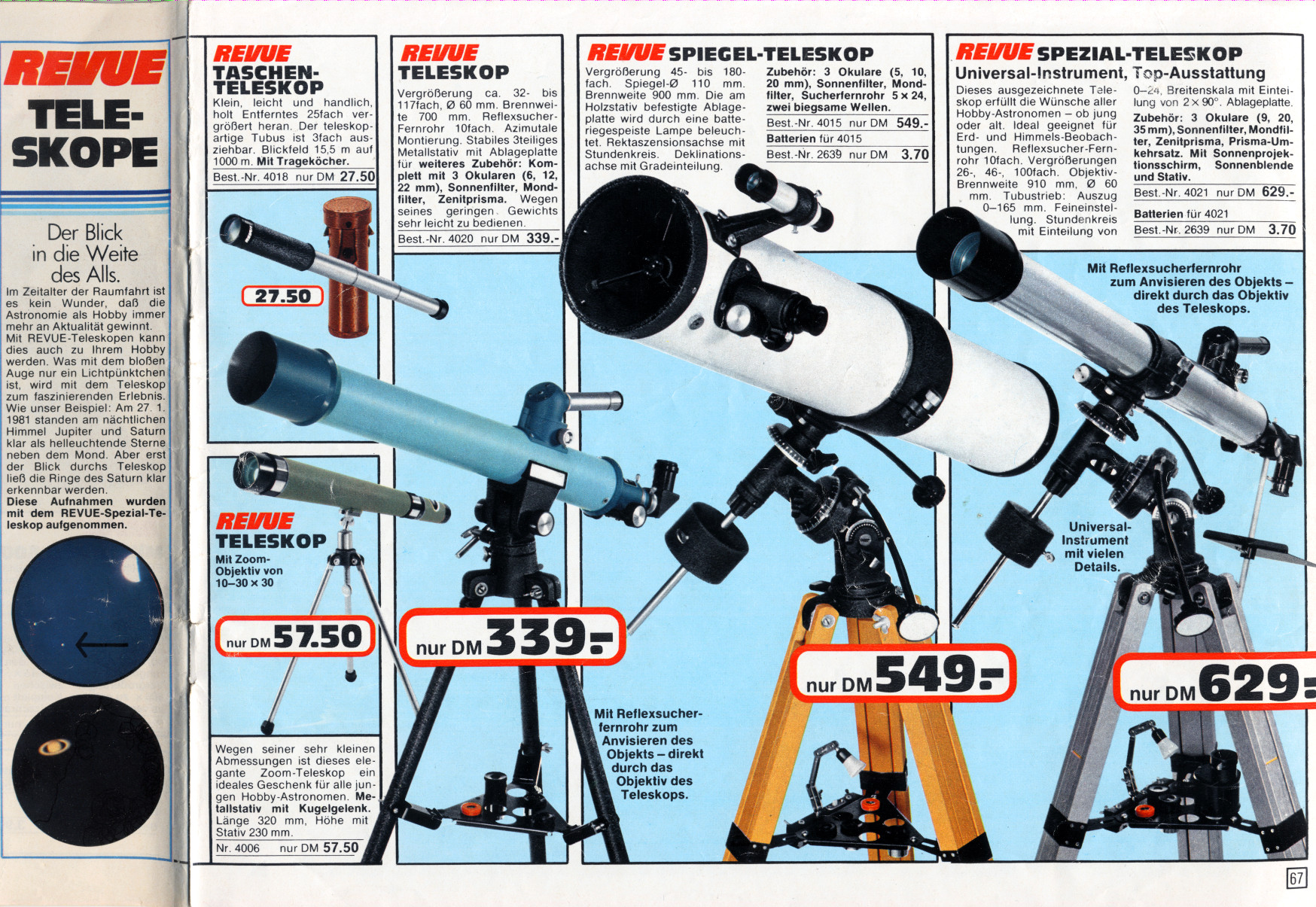 Teleskop oder fernglas was jeder einsteiger wissen sollte